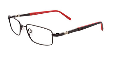 Matt Black Clip & Twist CT227 Eyeglasses.
