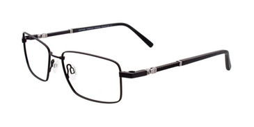 Matt Black & Silver Clip & Twist CT223 Eyeglasses.