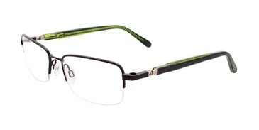 Satin Black Clip & Twist CT224 Eyeglasses.