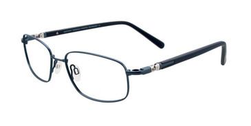 Matt Steel Blue Clip & Twist CT219 Eyeglasses.