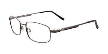Matt Steel & Black Clip & Twist CT215 Eyeglasses.