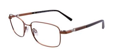Matt Bronze Clip & Twist CT243 Eyeglasses.