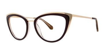 Merlot Zac Posen Jeanie Eyeglasses.