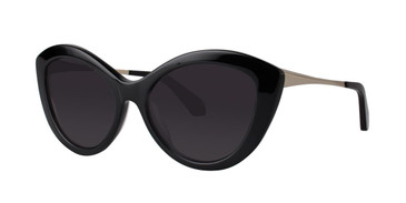 Black Zac Posen Shelley Sunglasses.