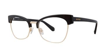 Black Zac Posen Livy Eyeglasses.