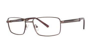 Matt Brown/Gold Vivid Collection 3001 Eyeglasses.