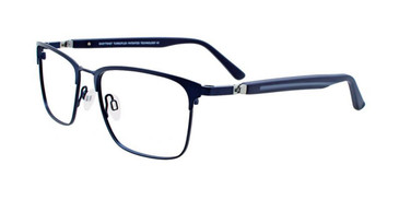 Satin Dark Blue Clip & Twist CT242 Eyeglasses.