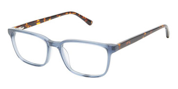 Blue Superflex SF-565 Eyeglasses.