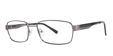 Matt Gunmetal/Black Vivid Collection 3002 Eyeglasses.