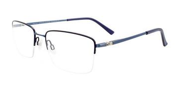 Matte Blue EasyTwist ET996 Eyeglasses.