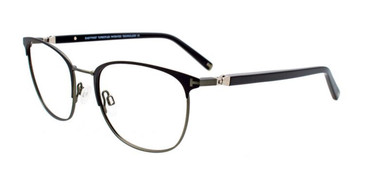 Matte Black/Steel Green EasyTwist ET994 Eyeglasses.