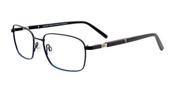 Matte Black EasyTwist ET990 Eyeglasses.
