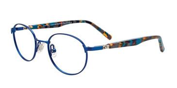 Matte Blue EasyTwist ET992 Eyeglasses.