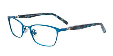 Matte Blue EasyTwist ET991 Eyeglasses.
