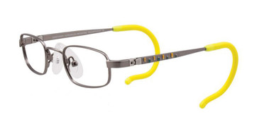 Matte Steel Yellow EasyTwist ET986 Eyeglasses.