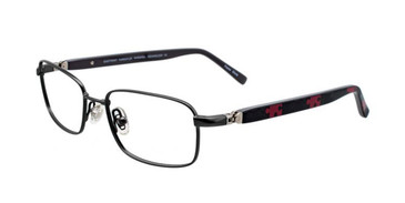 Satin Gunmetal EasyTwist ET979 Eyeglasses - Teenager.