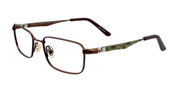 Satin Brown EasyTwist ET980 Eyeglasses.