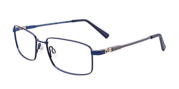 Matte Dark Blue EasyTwist ET972 Eyeglasses.