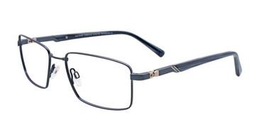 Matte Dark Blue EasyTwist ET974 Eyeglasses.