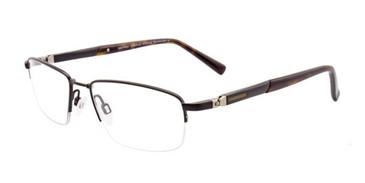 Matte Black EasyTwist ET973 Eyeglasses.