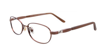 Shiny Brown EasyTwist ET969 Eyeglasses.