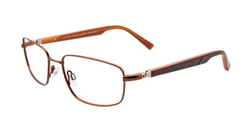 Satin Copper Brown EasyTwist ET963 Eyeglasses.