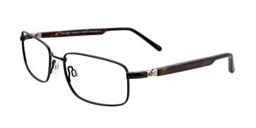 Satin Black EasyTwist ET961 Eyeglasses.