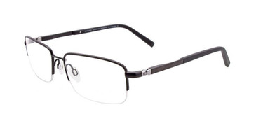 Satin Black EasyTwist ET962 Eyeglasses.