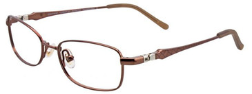 Shiny Brown EasyTwist ET958 Eyeglasses - Teenager.