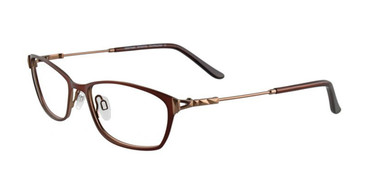 Satin Brown EasyTwist ET939 Eyeglasses.