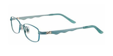 Satin Aqua/Light Blue EasyTwist ET932 Eyeglasses.