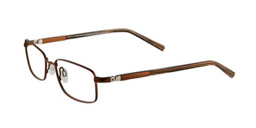 Copper Brown/Brown Crystal EasyTwist ET930 Eyeglasses.