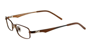 Satin Dark Brown EasyTwist ET920 Eyeglasses.