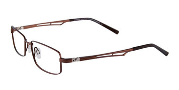 Matte Dark Brown EasyTwist ET923 Eyeglasses.