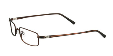 Satin Medium Brown EasyTwist ET903 Eyeglasses.