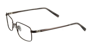Satin Medium Copper Brown EasyTwist ET888 Eyeglasses.
