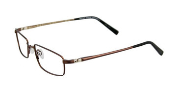 Satin Dark Copper Brown EasyTwist ET890 Eyeglasses.