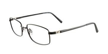 Satin Black EasyTwist ET891 Eyeglasses.