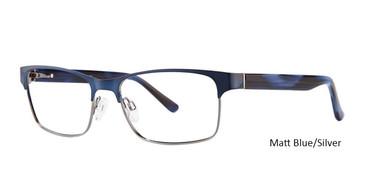 Matt Blue/Silver Vivid 383 Eyeglasses