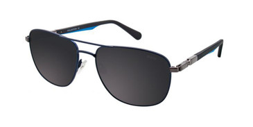 Satin Dark Navy Turboflex B6516 Sunglasses.
