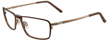 Matt Brown Turboflex EC295 Eyeglasses.
