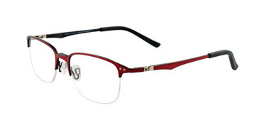 Satin Burgundy Turboflex EC296 Eyeglasses.
