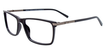 Black/Onyx Easy Clip EC500 Eyeglasses - (Clip-On).