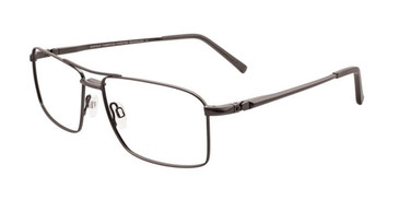 Satin Dark Grey Turboflex EC349 Eyeglasses.