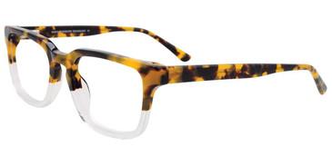 Demi Blond/Crystal Easy Clip EC475 Eyeglasses - (Clip-On).