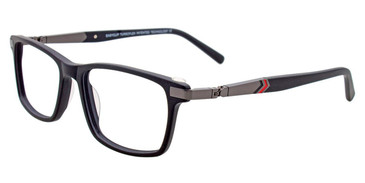 Black Easy Clip EC466 Eyeglasses - (Clip-On).