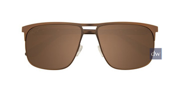 Satin Golden Brown Turboflex EC349 Sunglasses.