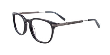 Black/steel  Turboflex TK1061 Eyeglasses.
