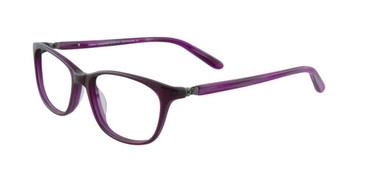 Dark Purple Crystal Turboflex TK904 Eyeglasses.