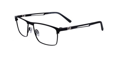 Satin Black Turboflex TK1048 Eyeglasses.